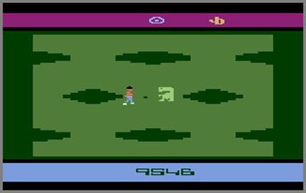 E T The Extra Terrestrial 1982 Atari Jerome Domurat