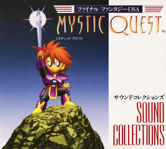 Final Fantasy Mystic Quest Sound Collections Cover