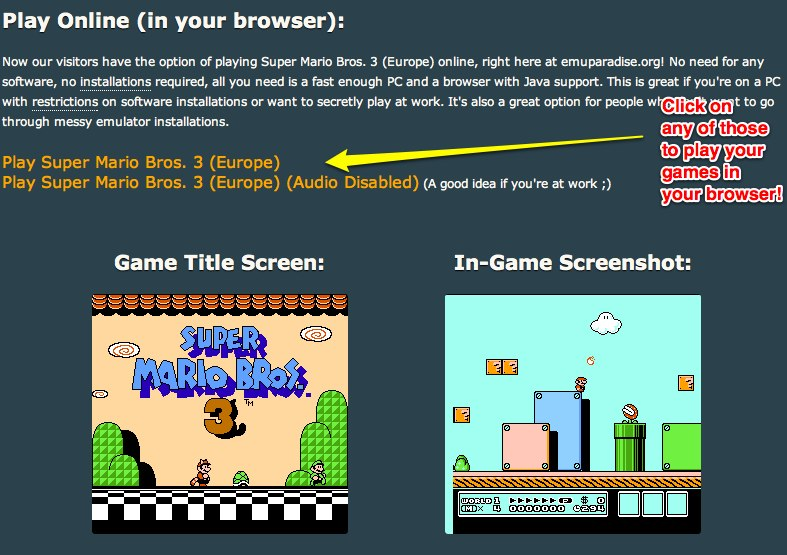Play Console Games in your Browser