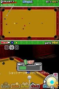 Billiard Action (E)(Trashman) Screen Shot
