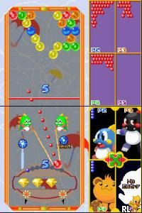 Hippatte! Puzzle Bobble (J)(WRG) Screen Shot