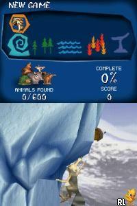 Ice Age 2 - The Meltdown (U)(Mode 7) Screen Shot