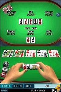 Texas Hold 'Em Poker (E)(WRG) Screen Shot