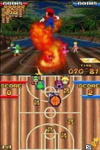 Mario Hoops 3 on 3 (U)(Legacy) Screen Shot