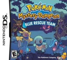 Pokemon Mystery Dungeon - Blue Rescue Team (U)(Legacy) Box Art