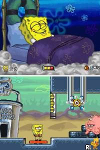 SpongeBob SquarePants - Creature from the Krusty Krab (U)(Legacy) Screen Shot