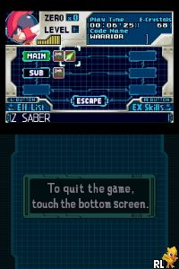 MegaMan Zero Collection (U) Screen Shot