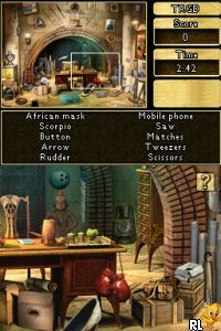 Chronicles of Mystery - Curse of the Ancient Temple (E) Screen Shot