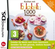 1000 Cooking Recipes from Elle a Table (DSi Enhanced) (E) Box Art