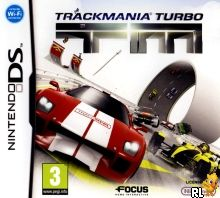 TrackMania Turbo (E) Box Art