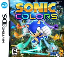 Sonic Colors (U) Box Art