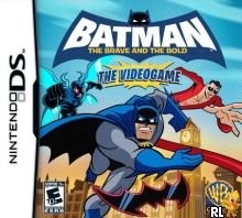 Batman - The Brave and the Bold - The Videogame (U) Box Art