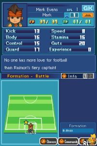 Inazuma Eleven (E) Screen Shot