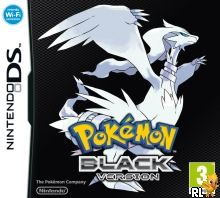 Pokemon - Black Version (DSi Enhanced)(USA) (E) Box Art