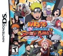Naruto Shippuden - Shinobi Rumble (U) Box Art