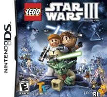 LEGO Star Wars III - The Clone Wars (U) Box Art