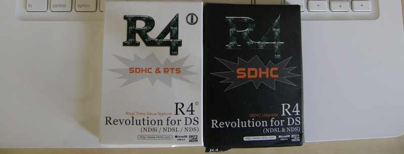 R4 vs  R4i SDHC & RTS Head to Head Review | Emuparadise org