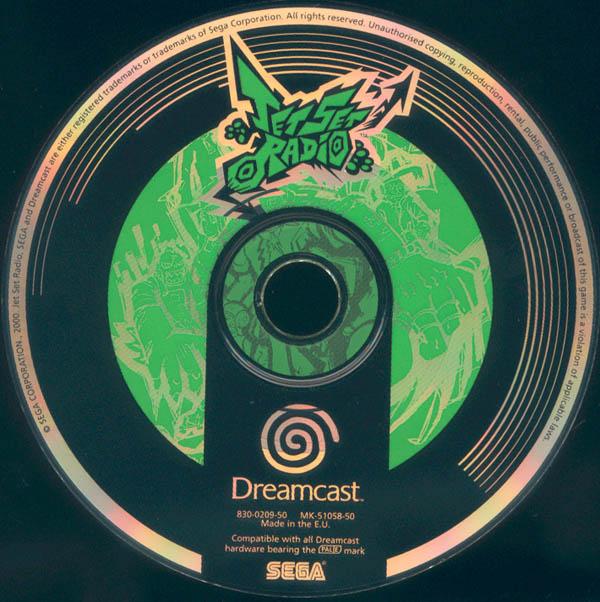 Dreamcast - Jet Set Radio ISO Download