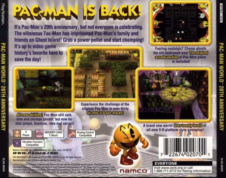 Pac Man World Psx Iso Download Emuparadise Org