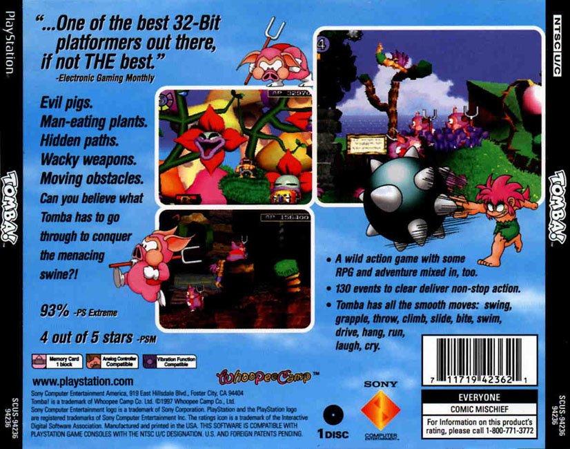 Zoboomafoo Game Tomba! PSX ISO Downloa...